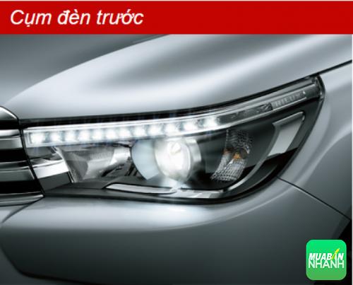 Cụm đèn trước Toyota Hilux 2016