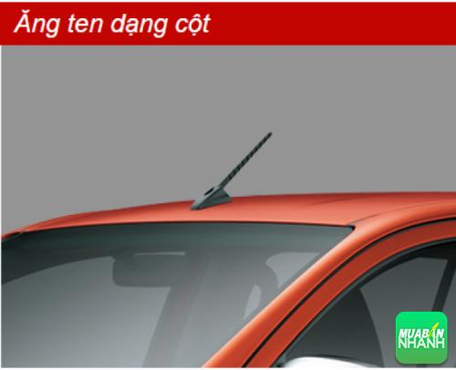 Ăng ten dạng cột Toyota Hilux 2016