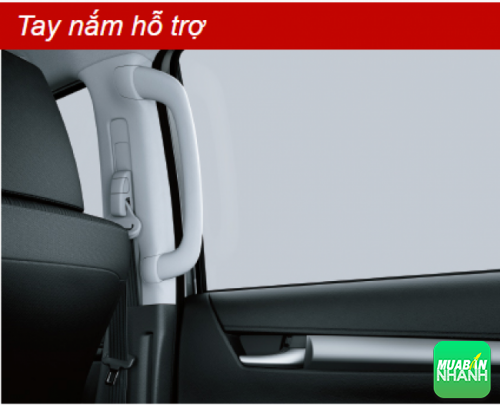 Tay nắm hỗ trợ Toyota Hilux 2016