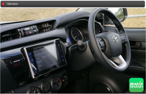 Thông số kỹ thuật trang bị tiện nghi Toyota Hilux 2016