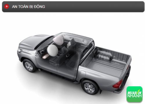 Thông số kỹ thuật an toàn bị động Toyota Hilux 2016