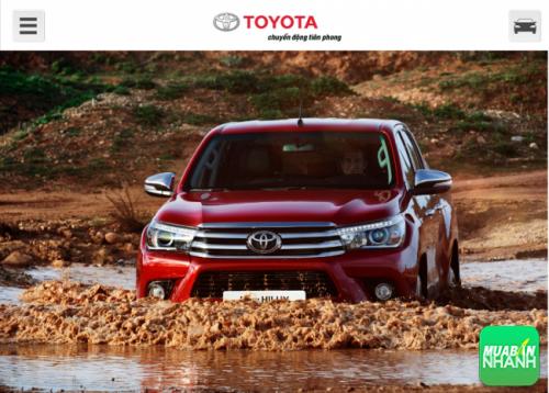 Lái nhẹ lướt êm hết ý cùng Toyota Hilux 2016!