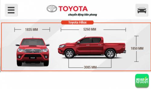 Nâng cấp đáng tiền về kỹ thuật trên Toyota Hilux 2016