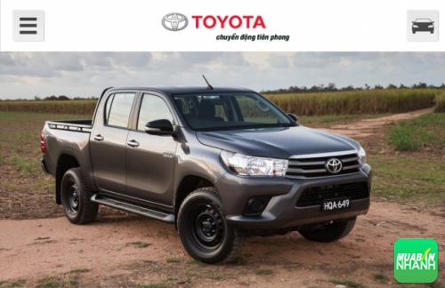 Một vài điểm trừ trên xe Toyota Hilux 2016