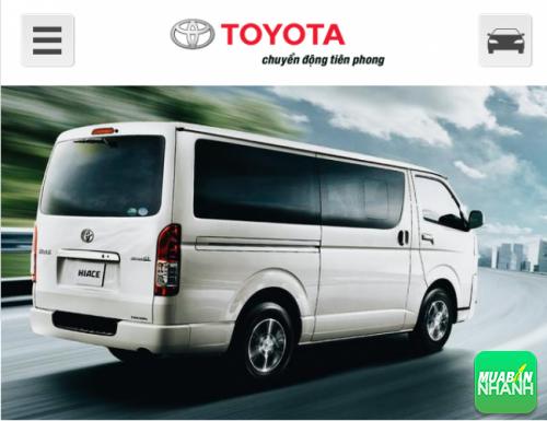 Đuôi xe Toyota Hicace 2016