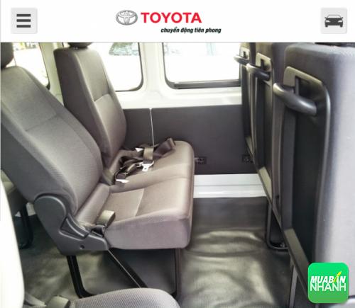 Ghế người lái và hành khách phía trước