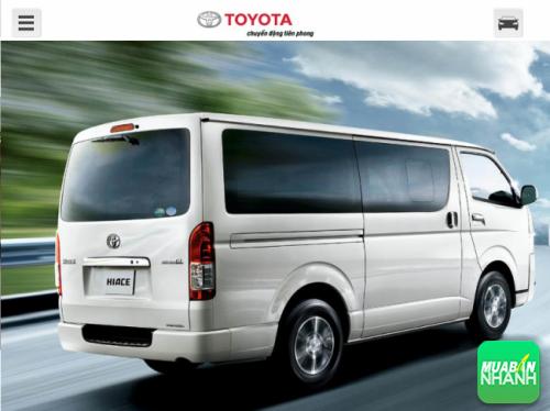 Đánh giá thông số kỹ thuật xe Toyota Hiace 2016