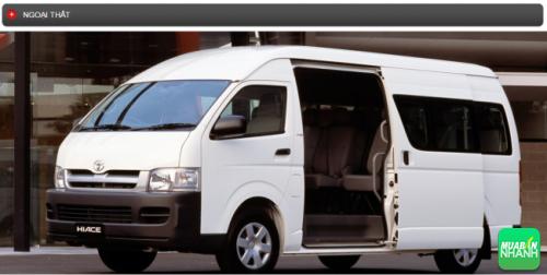 Thông số kỹ thuật ngoại thất Toyota Hiace 2016