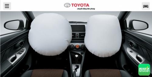 Toyota Hiace 2016 được trang bị hệ thống an toàn cơ bản