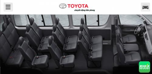Thông số kỹ thuật Toyota Hiace 2016: Thêm trang bị, thêm sự cạnh tranh