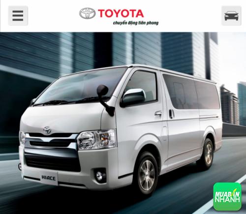 Những lý do để chọn mua ngay Toyota Hiace 2016