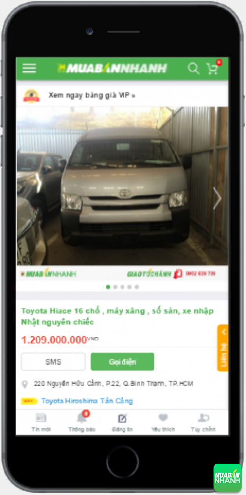 Đánh giá Toyota Hiace 2016 từ người dùng trên Mạng xã hội MuaBanNhanh