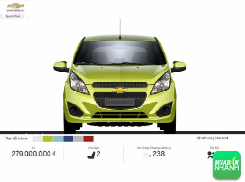 Mặt trước Chevrolet Duo 2016