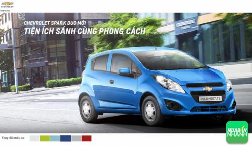6 phiên bản màu: Chevrolet Duo 2016 nổi bật thu hút mọi ánh nhìn!