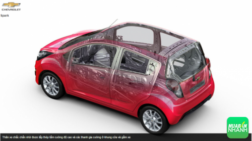 An toàn Chevrolet Spark 2016