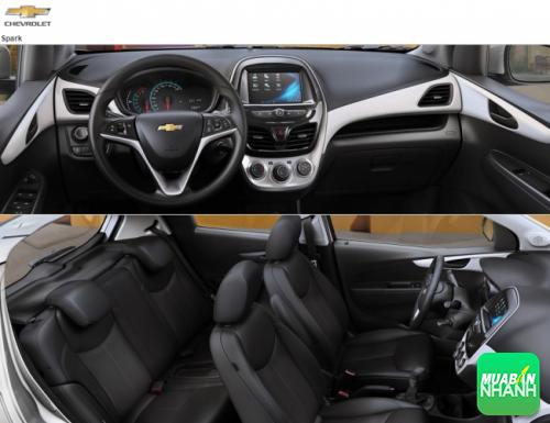 Nội thất Chevrolet Spark thay đổi khá mạnh mẽ, thiết kế bắt mắt