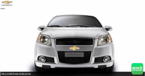 Đầu xe Chevrolet Aveo 2016