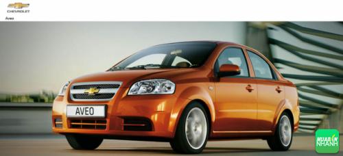 Ngoại thất Chevrolet Aveo 2016