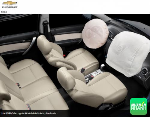 An toàn Chevrolet Aveo 2016