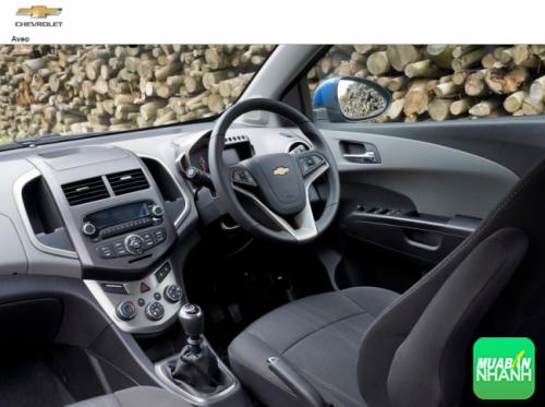 Nội thất Chevrolet Aveo 2016