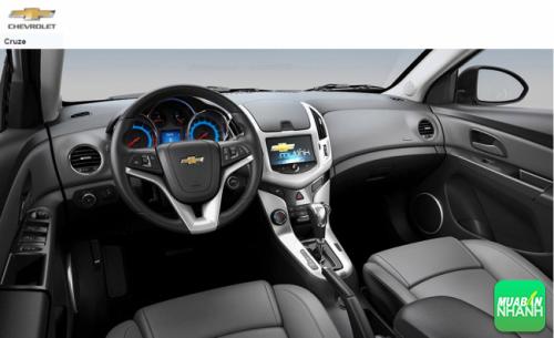 Cận cảnh nội thất Chevrolet Cruze 2016
