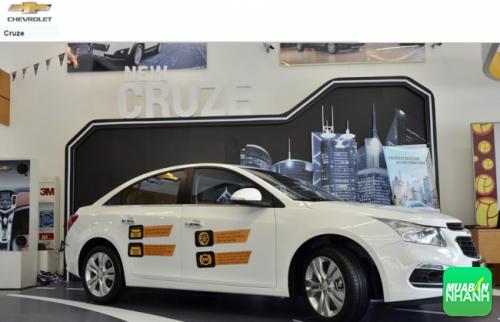 Đánh giá an toàn xe Chevrolet Cruze 2016: chuẩn mực của an toàn