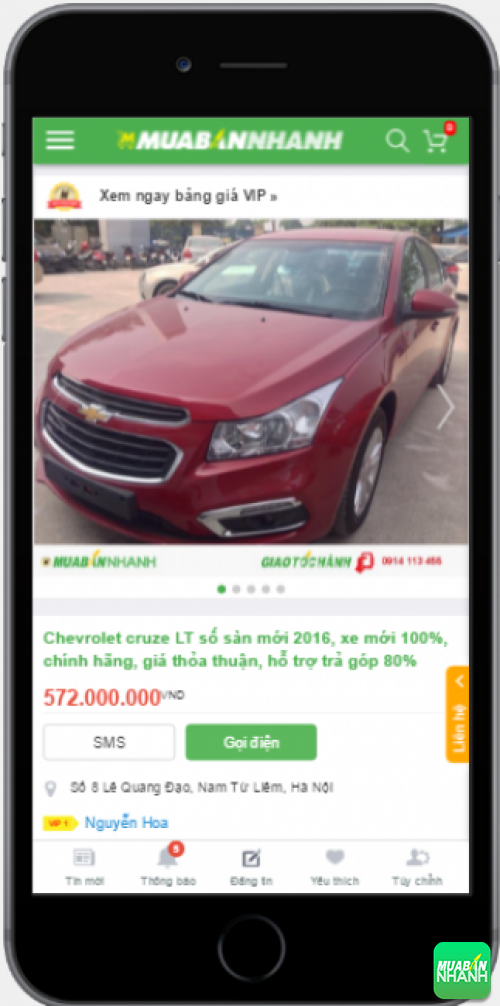 Đánh giá Chevrolet Cruze 2016 từ người dùng trên Mạng xã hội MuaBanNhanh