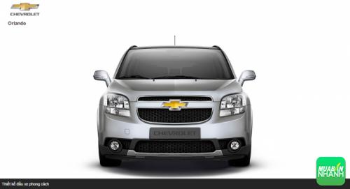 Đầu xe Chevrolet Orlando 2016