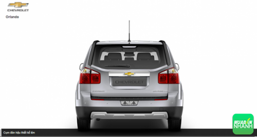 Gương chiếu hậu Chevrolet Orlando 2016
