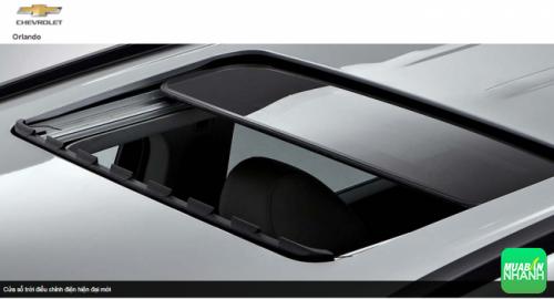 Cửa sổ trời Chevrolet Orlando 2016