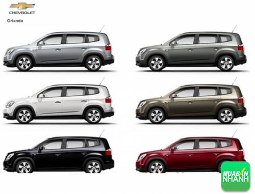 Đánh giá màu xe Chevrolet Orlando 2016: vừa năng động mà vẫn sang trọng