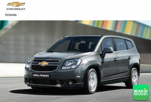 Ngoại thất Chevrolet Orlando 2016