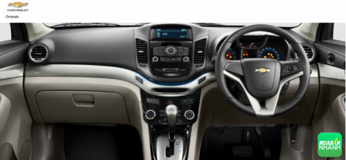 Nội thất Chevrolet Orlando 2016