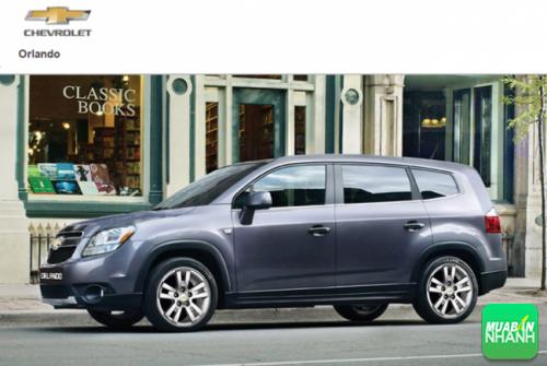 Kích thước Chevrolet Orlando 2016