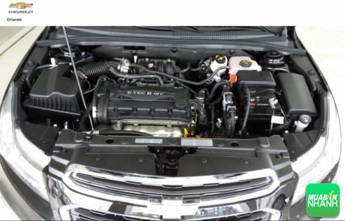 Động cơ và truyền động Chevrolet Orlando 2016