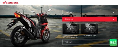 Động cơ Honda Winer: ôm cua ngọt tự tin cùng hộp số 6 cấp!