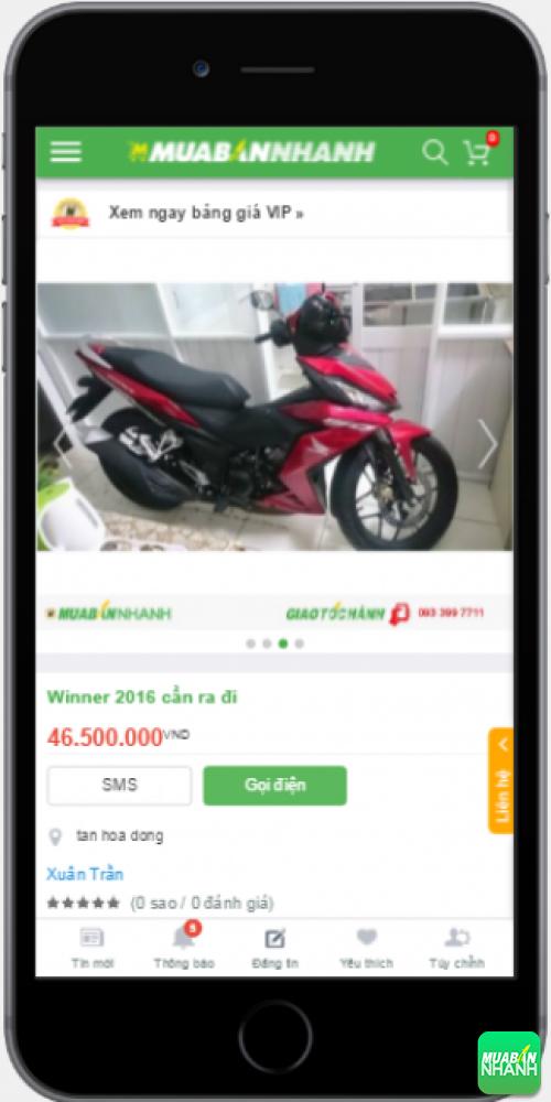 Đánh giá Honda Winner 150 2016 từ người dùng trên Mạng xã hội MuaBanNhanh