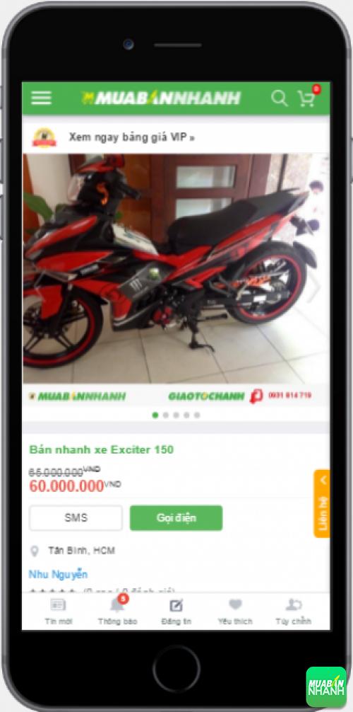Đánh giá Yamaha Exciter 150 2016 từ người dùng trên Mạng xã hội MuaBanNhanh