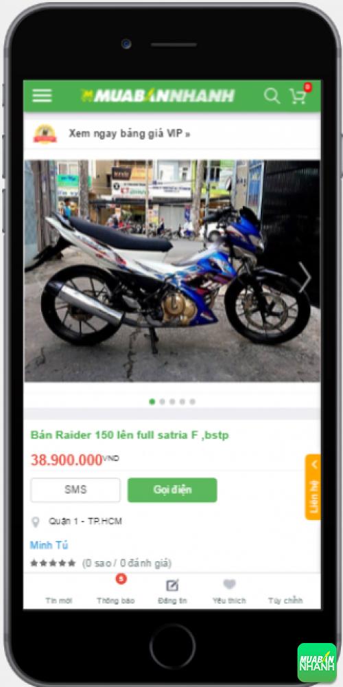 Đánh giá Suzuki Rader 150 2016 từ người dùng trên Mạng xã hội MuaBanNhanh