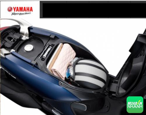 Thiết kế cốp xe Yamaha Jannus