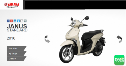 Động cơ và vận hành Yamaha Janus có mạnh mẽ?