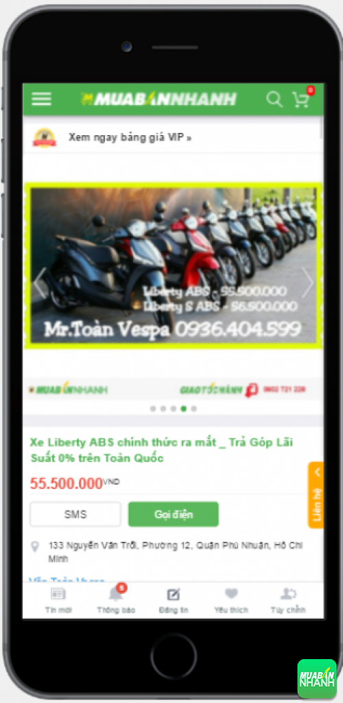 Người dùng trên Mạng xã hội MuaBanNhanh nói gì về Piaggio Liberty ABS 2016?