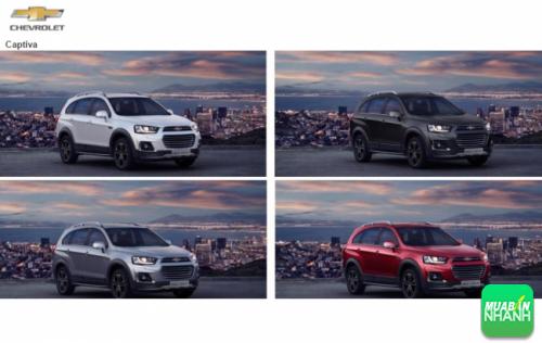 Đánh giá màu xe Chevrolet Captiva 2016: 4 tùy chọn màu cho phong cách của bạn