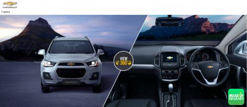 Đánh giá thông số kỹ thuật xe Chevrolet Captiva 2016: thay đổi lấy lại vị thế