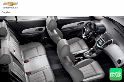 Nội thất Chevrolet Captiva 2016