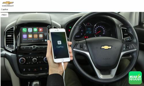 Tiện nghi Chevrolet Captiva 2016